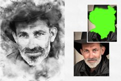 Charcoal Sketch Photoshop Action Product Image 3