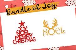 Bundle Of Joy - Christmas SVG Bundle  Product Image 6