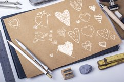 Vector doodle hearts, set Product Image 5