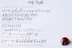 Melly Thoughtie - Handwritten SIgnature Font Product Image 6