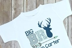 Deer Themed Big Brother Sibling Design Product Image 3