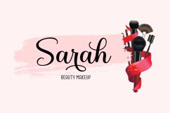 Lovely Nathalie Script Font DUO Product Image 5