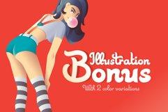 Skater Girl font Bonus Product Image 4