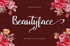 Beautyface Script Product Image 1
