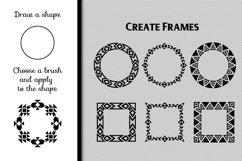 80 Tribal Pattern Brushes for Adobe Illustrator Product Image 3