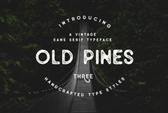 Old Pines Sans Typeface Product Image 2