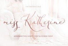 Miss Katherine font + Extras & Logo Product Image 1