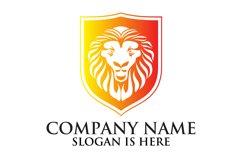 Lion shield logo design ,Elegant lion head logo Product Image 3