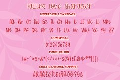 Falling Love Quirky Handwritten Font Product Image 5