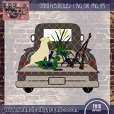 Hunting Truck Ducks and Lab SVG, DXF, PNG, EPS Comm Product Image 2