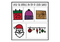 North Pole - A Christmas / Winter Doodles Font Product Image 6