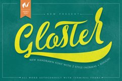 Gloster Typeface Product Image 1