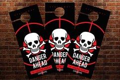 Danger Ahead Door Hangers Product Image 2
