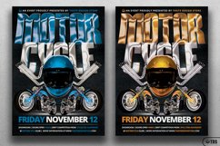 Motorcycle Flyer Template Product Image 2