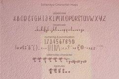 Saillendya   Handwritten Brush Typeface Product Image 6