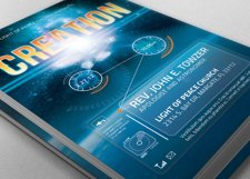 Creation Church Flyer Template Product Image 1