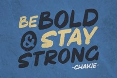 Chakie - Retro Brush Fonts Product Image 3