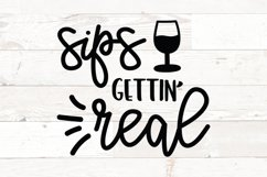 Wine Glass Sayings SVG Bundle Wine Quotes Product Image 8