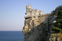 View of the Swallow's Nest Castle,Crimea Product Image 1