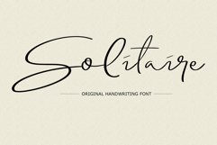 Solitaire Font Product Image 1