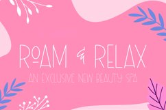The Flowery Font Product Image 2