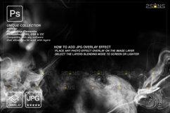 Smoke backgrounds & Smoke bomb overlay, Photoshop overlay Product Image 2