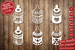 Papercut Cute Baby Feeders with Decorations Set Product Image 5