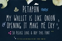 Petapon Font + BONUS Product Image 2