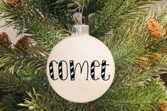 Santa's Reindeer Names Cut File BUNDLE- SVG & PNG Product Image 2