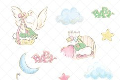 Cute Baby Clip Art Product Image 2
