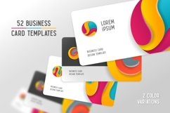 Round alphabet & Business cards Product Image 3