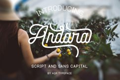 Andara Font Combination ( 30 % OFF ) Product Image 1