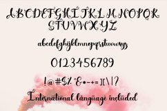 Simply Styled, a flourished ornamental script font Product Image 6