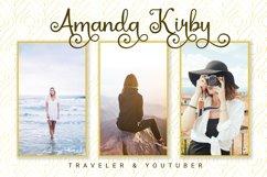 Kayla Katrina - Swirly Calligraphy Product Image 5