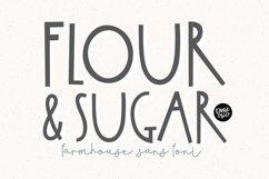 FLOUR & SUGAR a Farmhouse Font Product Image 1
