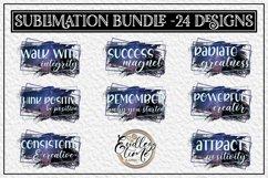 Motivational Quote Sublimation Bundle | 24 Unique Designs Product Image 3