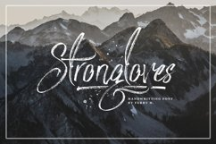 Strongloves - Handwritting Font Product Image 2