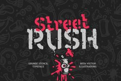 Street Rush font & graphics Product Image 1