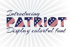 Patriot font family Product Image 1