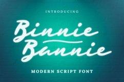 Web Font Binnie Bannie Font Product Image 1