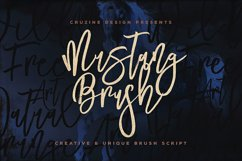 Mustang Brush Font Product Image 1
