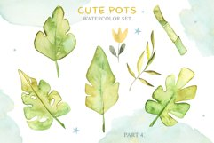 Cute Pots Watercolor Set Product Image 5