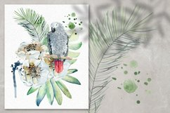 Tropical summer. Watercolor set. Product Image 4