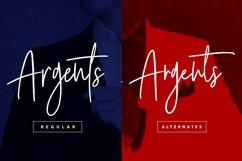 Argents Signature Font Product Image 2