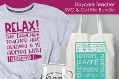 Daycare Teacher - Daycare SVG and Cut Files for Crafters Product Image 3