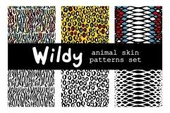 WILDY   animal skin patterns set Product Image 6