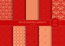 Set of seamless ornaments Product Image 1