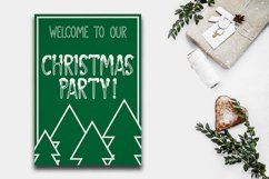 SNOWLAND - hand drawn winter font Product Image 3