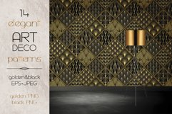 Art Deco Wallpapers Pack   PNG EPS JPG   Vol.4 Product Image 5