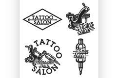 Vintage tattoo salon emblems Product Image 1